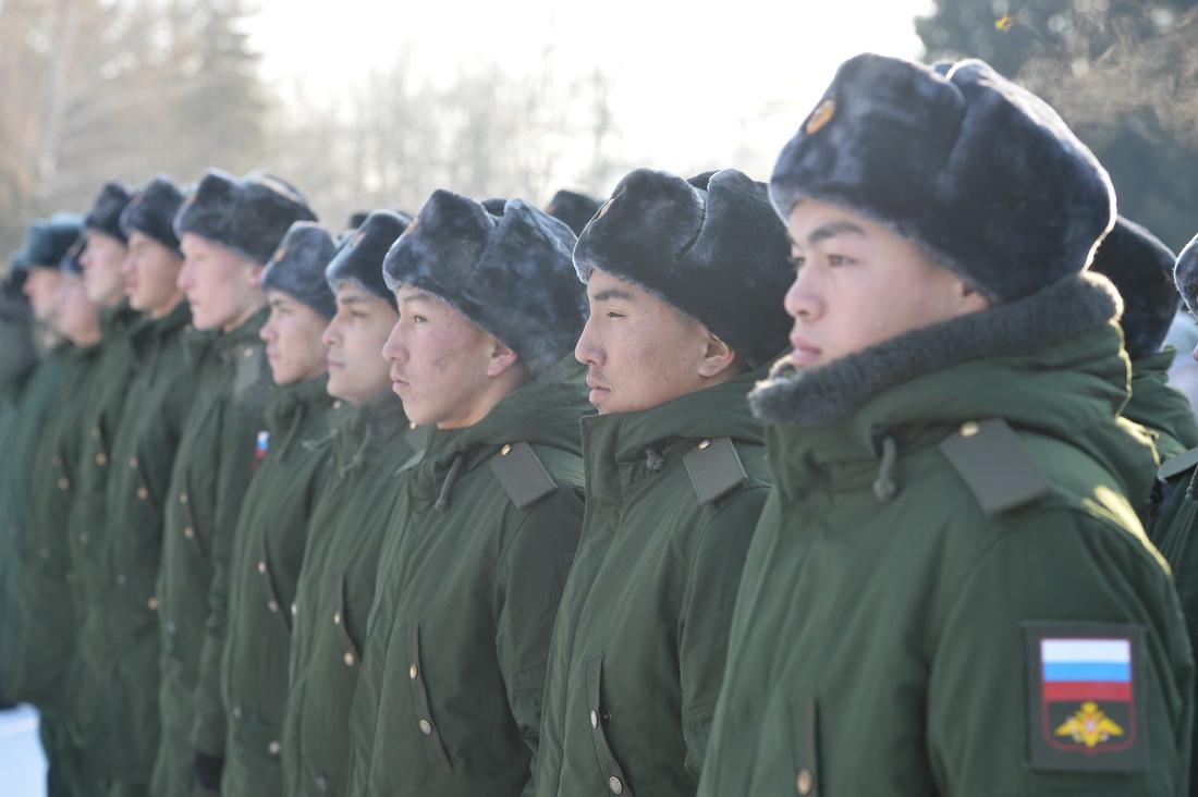 Торжественная отправка призывников прошла в Горно-Алтайске